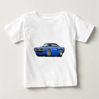 1970 Coronet RT Blue-Black Top Hood Scoop Car T Shirt