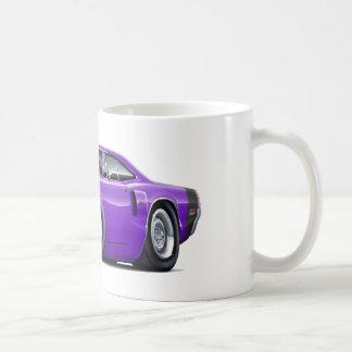 1970 Coronet RT Purple-Black Hood Scoop Car Coffee Mug