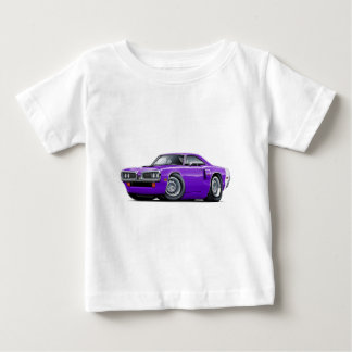 1970 Coronet RT Purple-White Hood Scoop Car T Shirt