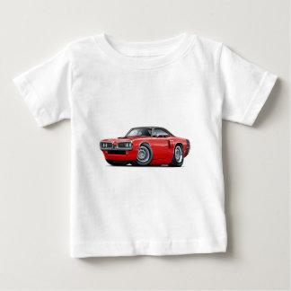 1970 Coronet RT Red-Black Top Hood Scoop Car Tee Shirt