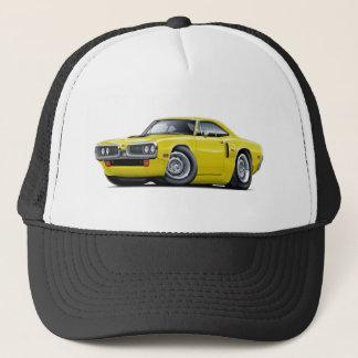1970 Coronet RT Yellow Hood Scoop Car Trucker Hat