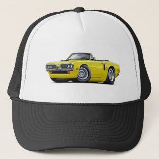 1970 Coronet RT Yellow Hood Scoop Convert Trucker Hat
