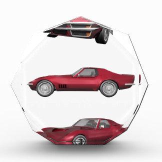 1970 Corvette: Candy Apple Finish: Award