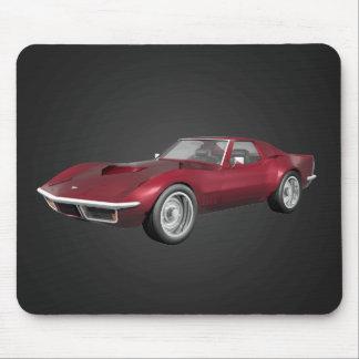 1970 Corvette: Candy Apple Finish: Mousepad