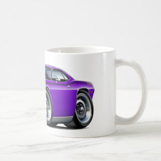 1970 Cuda AAR Purple Car Coffee Mug