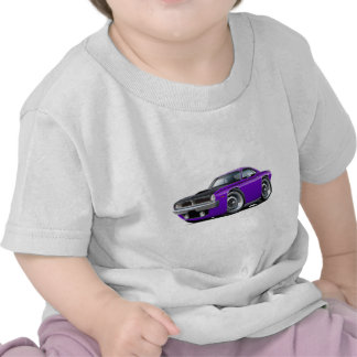 1970 Cuda AAR Purple Car Tshirts