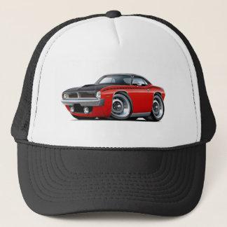 1970 Cuda AAR Red-Black Top Car Trucker Hat