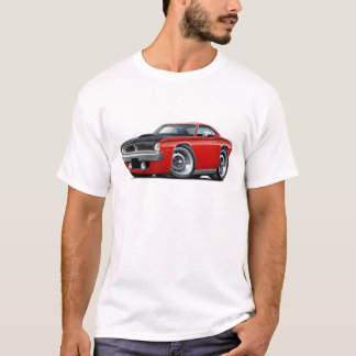 1970 Cuda AAR Red Car T-Shirt