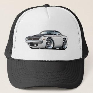 1970 Cuda AAR White-Black Top Car Trucker Hat
