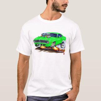 1970 Cuda Green Car T-Shirt
