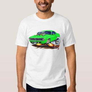 1970 Cuda Green Car Tee Shirt