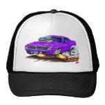 1970 Cuda Purple Car Mesh Hat