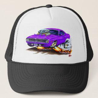 1970 Cuda Purple Car Trucker Hat