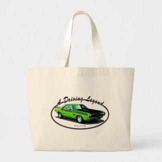 1970 Dodge challenger Canvas Bag