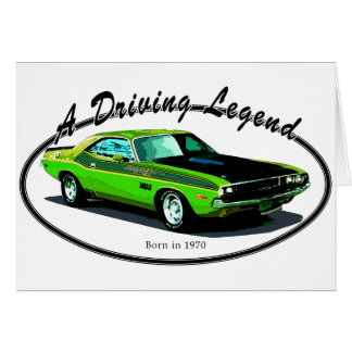 1970 Dodge challenger Greeting Cards