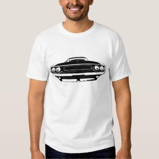 1970 Dodge Challenger Front and Rear Tee Shirt