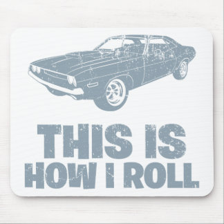 1970 Dodge Challenger Mouse Pad