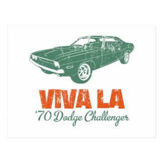 1970 Dodge Challenger Postcard