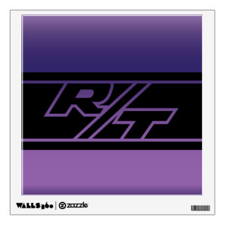 1970 Dodge Challenger RT in Plum Crazy Wall Decal