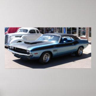 1970 Dodge Challenger TA Poster
