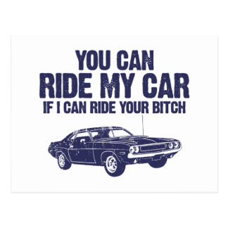 1970 Dodge Hemi Challenger Postcard