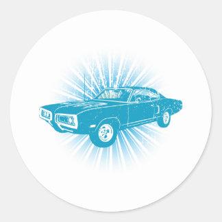 1970 Dodge Super Bee 400 Stickers