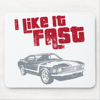 1970 Ford Mustang Boss 302 Mouse Pads