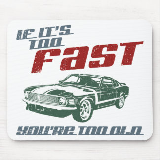 1970 Ford Mustang Boss 302 Mousepad