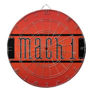 1970 Ford Mustang GT Mach 1 Dartboard