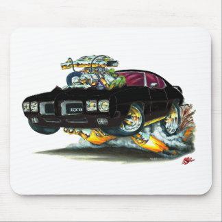 1970 GTO Black Car Mouse Pad