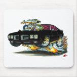 1970 GTO Black Car Mousepad