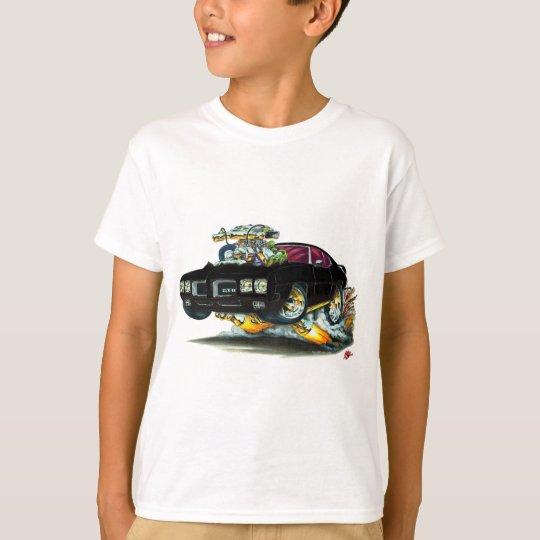 1970 GTO Black Car T-Shirt