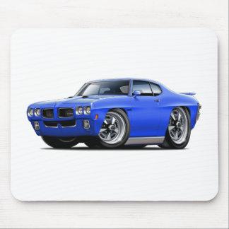 1970 GTO Blue Car Mouse Pad