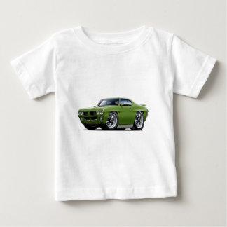 1970 GTO Green Car Baby T-Shirt