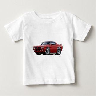 1970 GTO Maroon Car Baby T-Shirt