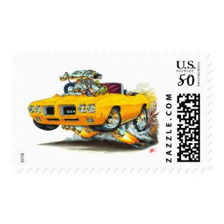 1970 GTO Orange Convertible Postage