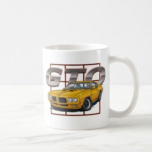 1970 GTO Orbit Orange Coffee Mug