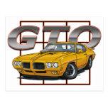 1970 GTO Orbit Orange Post Card