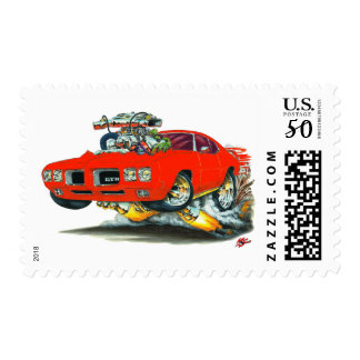 1970 GTO Red Car Postage