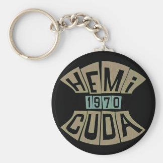 1970 HEMI CUDA KEYCHAIN