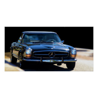 1970 Mercedes-Benz 200-Series California Special Poster