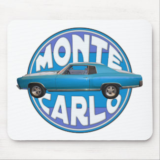 1970 monte carlo chevy blue mouse pad