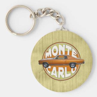 1970 monte carlo copper camel brown keychain