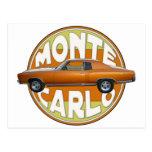 1970 monte carlo copper camel postcard