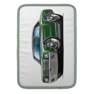 1970 Monte Carlo Dk Green-Black Top Car Sleeve For MacBook Air
