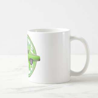 1970 monte carlo green machine coffee mug