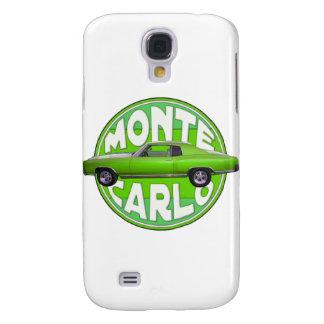 1970 monte carlo green machine galaxy s4 cover