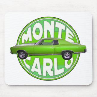 1970 monte carlo green machine mousepad