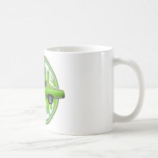1970 monte carlo green machine classic white coffee mug