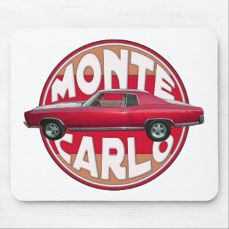 1970 Monte Carlo Red Mouse Pad
